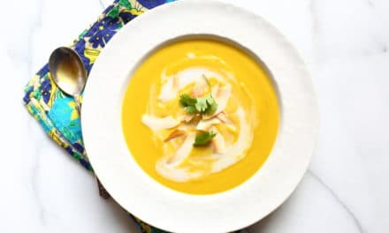 Roasted Squash Soup with Coconut & Curry (Vegan)