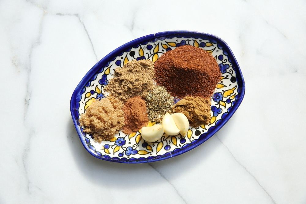 Spices for slow cooker carnitas