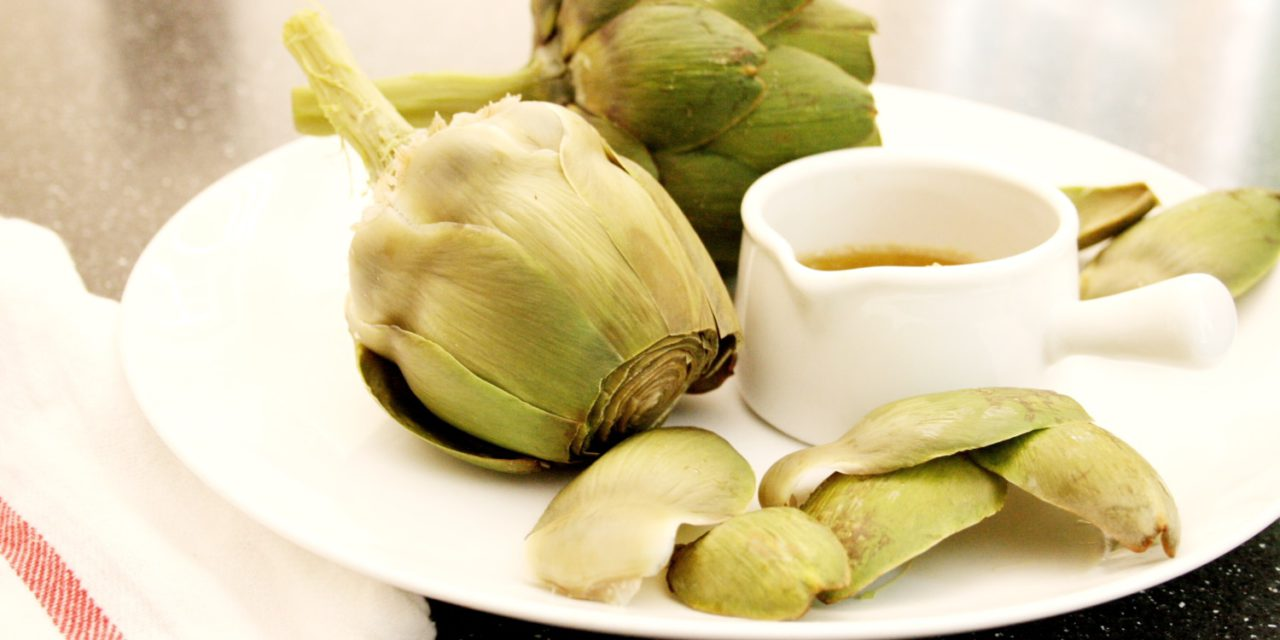 Artichokes with Bagna Cauda | From Scratch Fast | Recipes from scratch for busy cooks!
