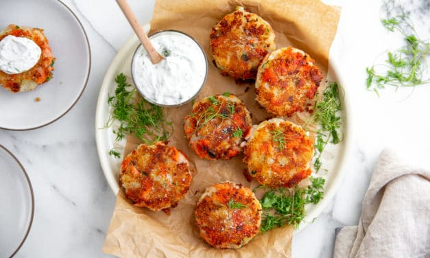 Crispy Salmon Potato Cakes Recipe (Gluten-free!)