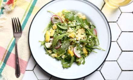 Sweet Corn Salad with Creamy Ancho Dressing