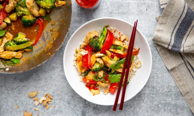 How to Make a Healthy Stir Fry (with any Vegetables or Meats!)