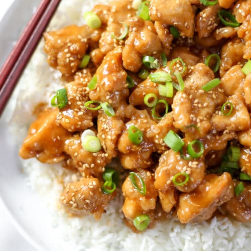 Gluten Free Sesame Chicken Naturally Sweetened From Scratch Fast