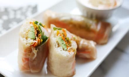Shrimp Winter Rolls (a.k.a. summer rolls dressed up for winter!)