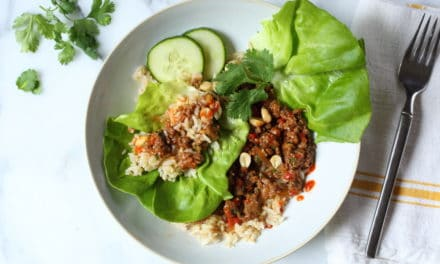 Healthy Asian Lettuce Wraps (Bowls!)