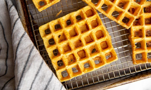 Chickpea Waffles: The Easiest Waffles you will Ever Make