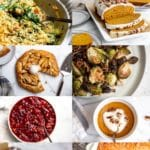 Gluten free recipes for Thanksgiving in a grid