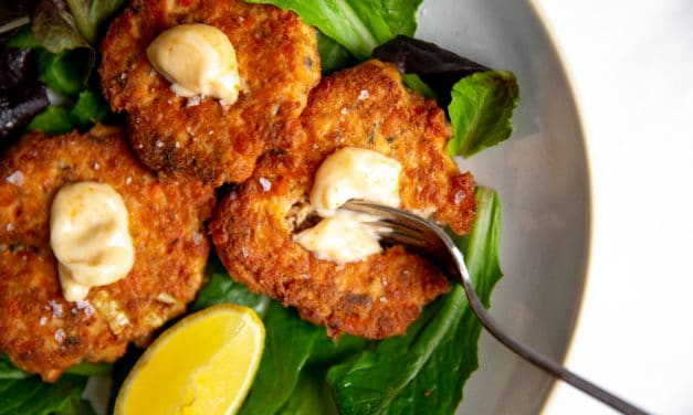 Everyday Paleo Salmon Cakes (using canned salmon!)