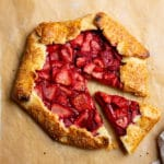 Ultimate EASY Strawberry Galette (Gluten Free)