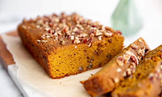 How to make Healthy Paleo Pumpkin Bread (Easy & delicious!)