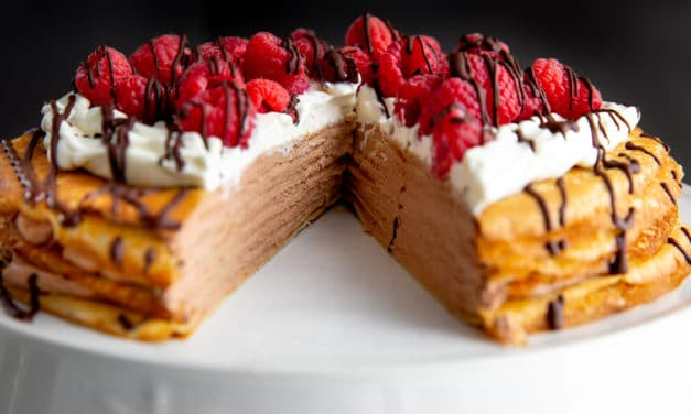 How to Make a Stunning Crepe Cake (Gluten Free Option!)