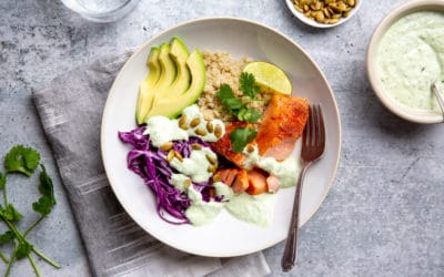 How to Perfectly Cook Salmon in the Slow Cooker (with Cilantro Yogurt Sauce)